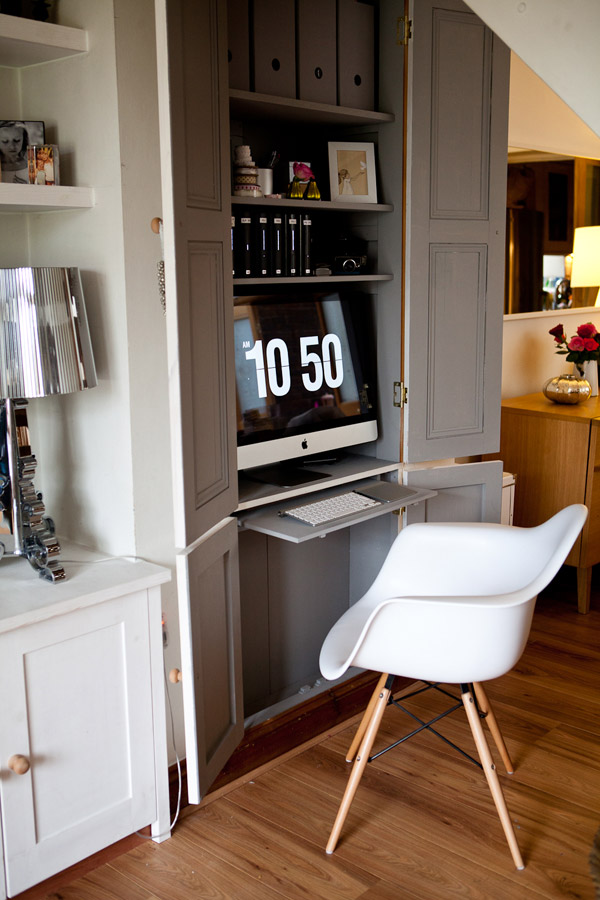 How to create the perfect home office mad about the house - Bureau dans une chambre ...