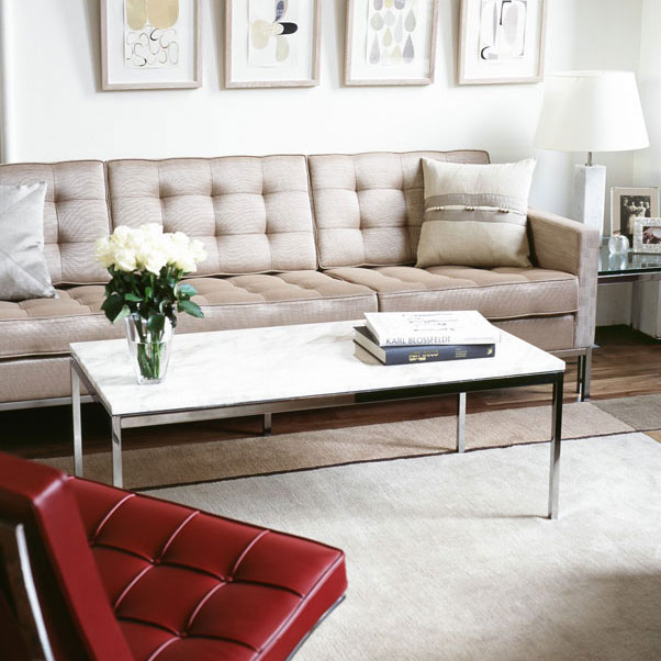 Florence Knoll sofa from spacecraftint.com which sells authorised pieces