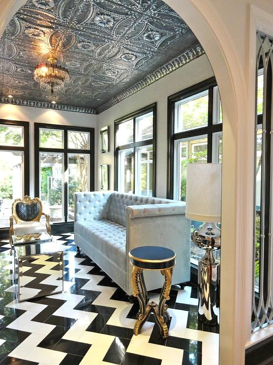 Mad about decorated ceilings