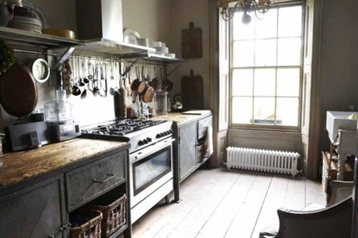 Get The Look Modern Industrial Kitchens