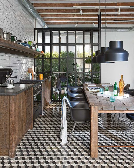 tile flooring by egue y seta for a house in Barcelona