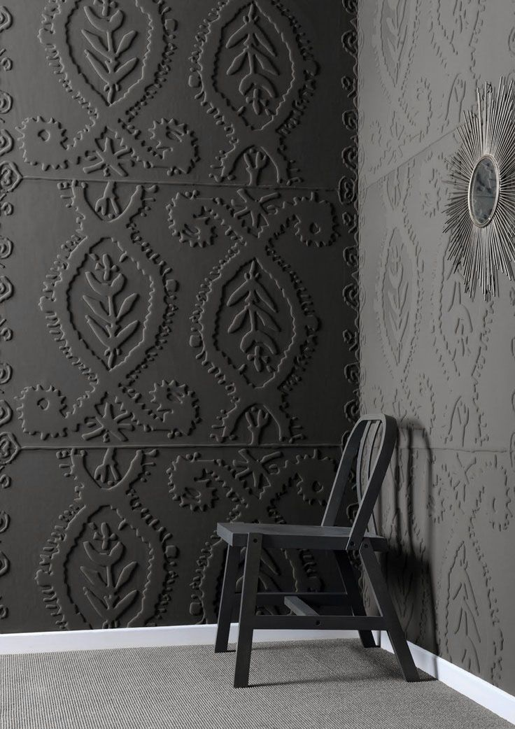 Mad about anaglypta wallpaper mad about the house for Embossed wallpaper