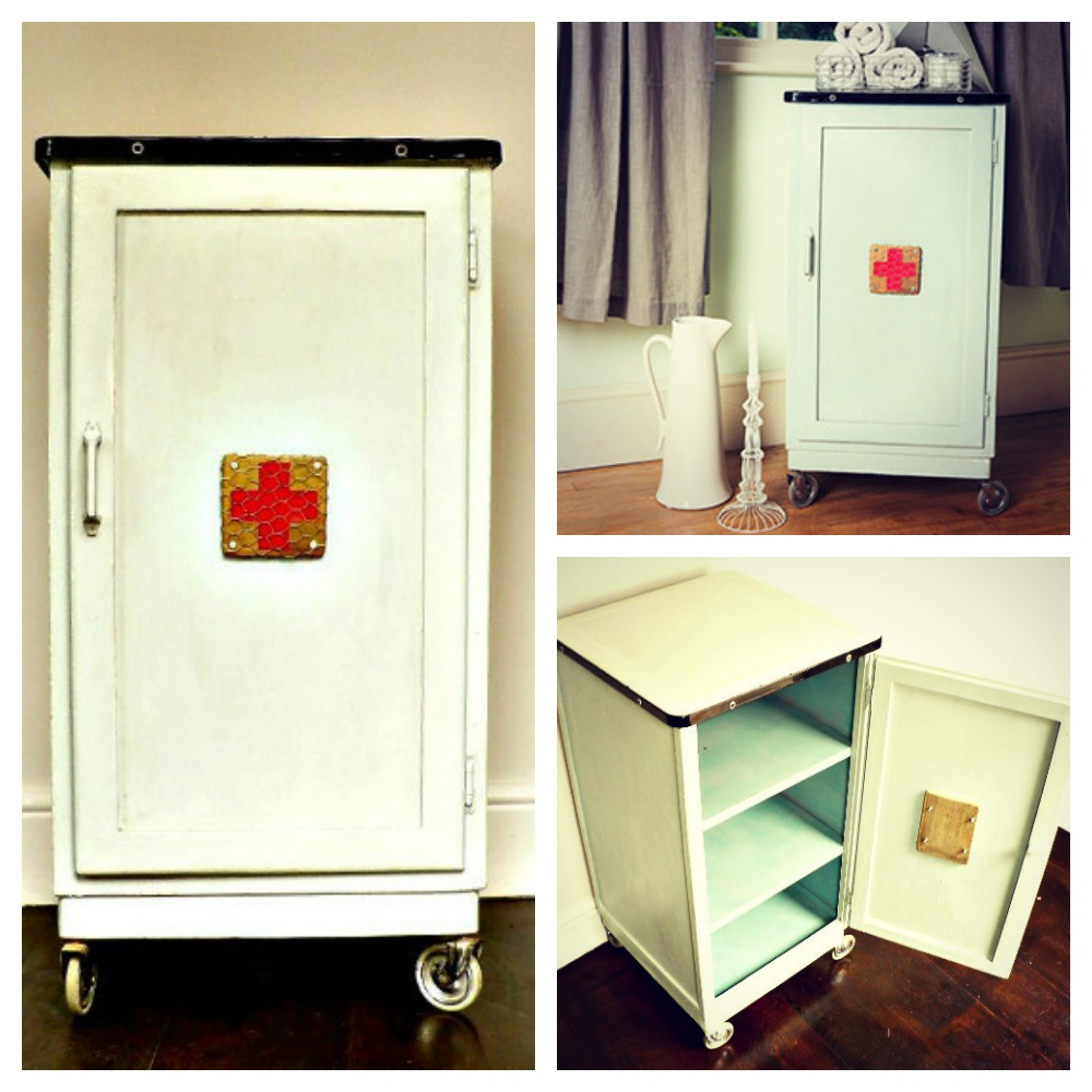 vintage metal bathroom cabinet mad about the house