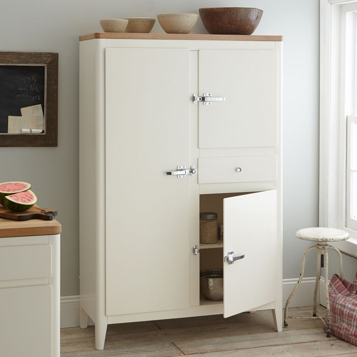Freestanding kitchen unit mad about the house - Kitchen pantry cabinets freestanding ...