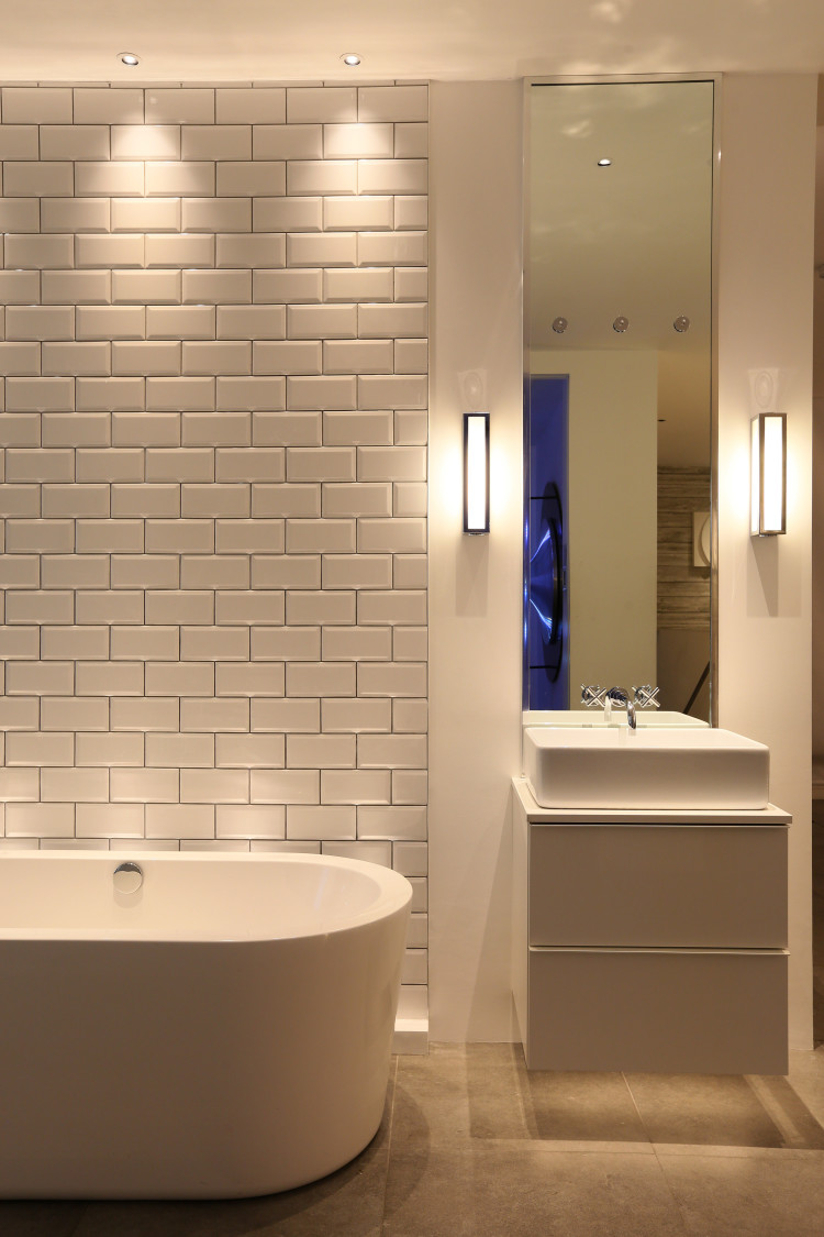 Wall Lights For Shower Room : How To Get The Lighting Right: The Bathroom - Mad About The House