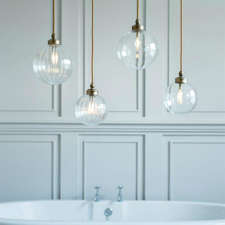 bathroom pendant light from jim lawrence