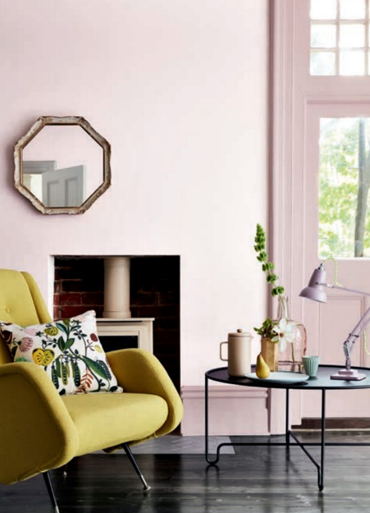 The pink collection by little greene mad about the house - Couleurs de peinture pour salon ...