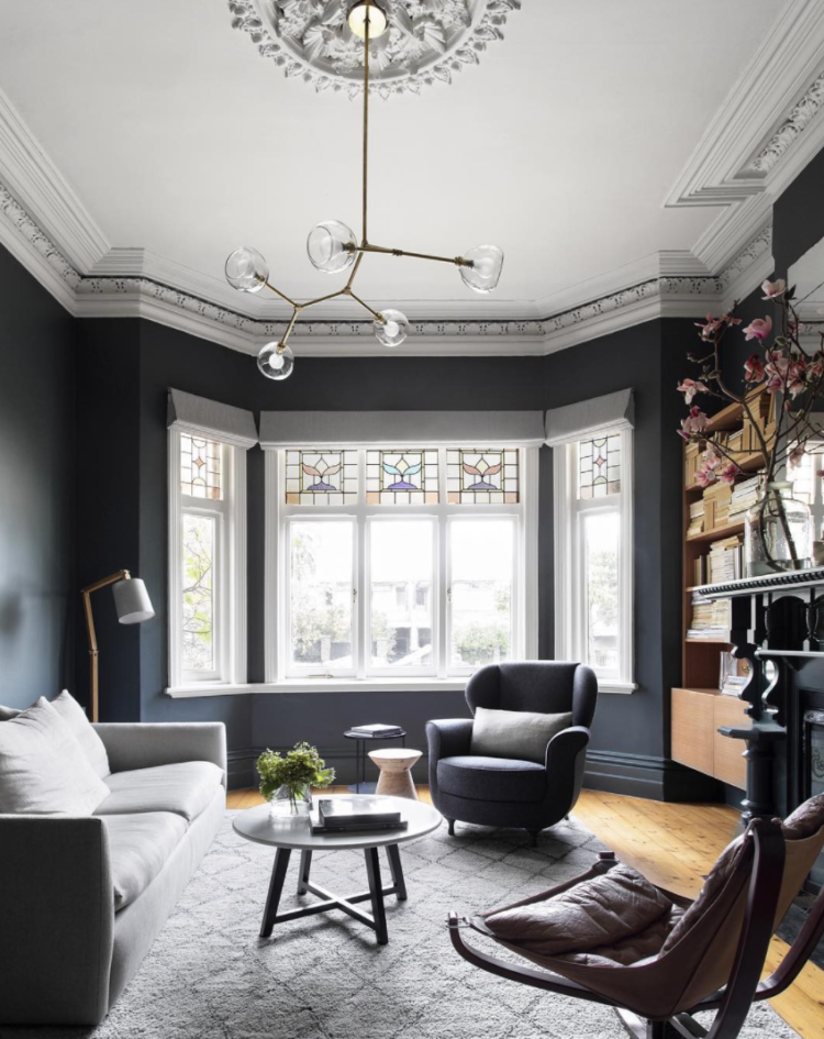 Dark Living Room Ideas: Mad About The House