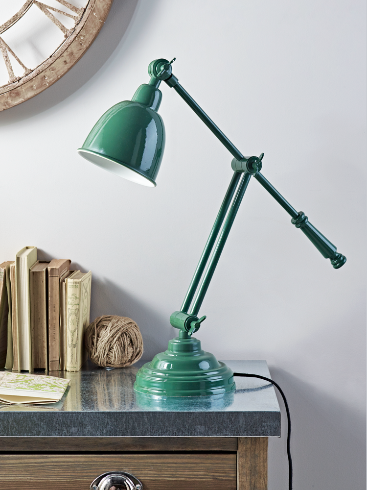 ankur green desk lamp from cox and cox