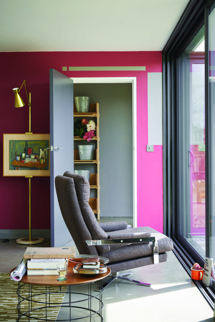 New season paint trends from farrow ball mad about the - Peinture murale contemporaine ...