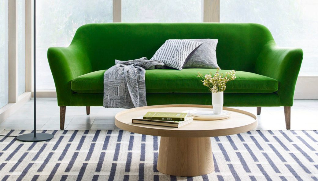 russell pinch sofa for heals