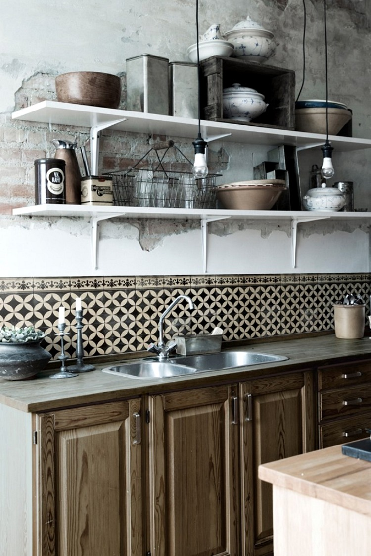 How To Cover Your Ugly Splashback Tiles Mad About The House