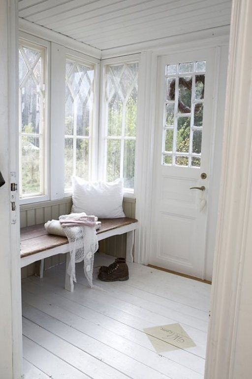 Panelled Room: Mad About White Paint
