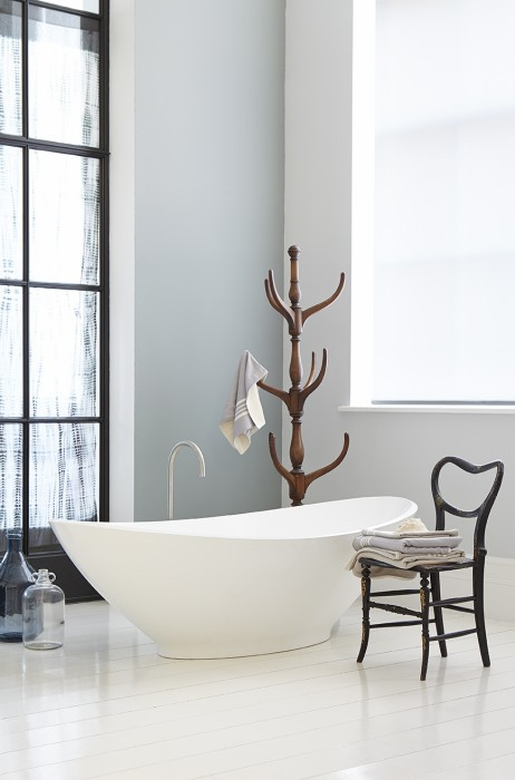 grey bathroom by little greene
