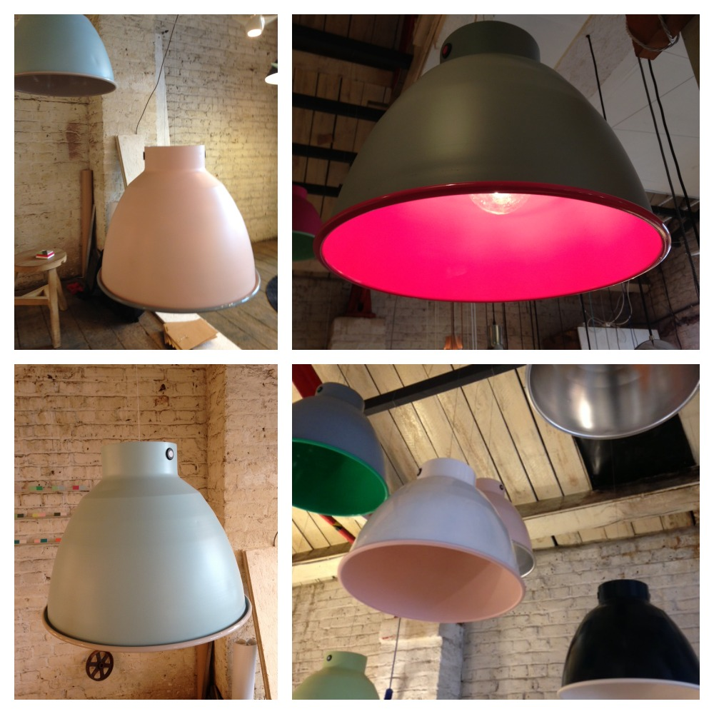 Salvaged Candy Lamps
