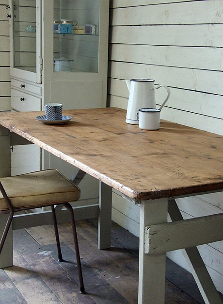 Vintage Trestle Table From The Mintlist Com