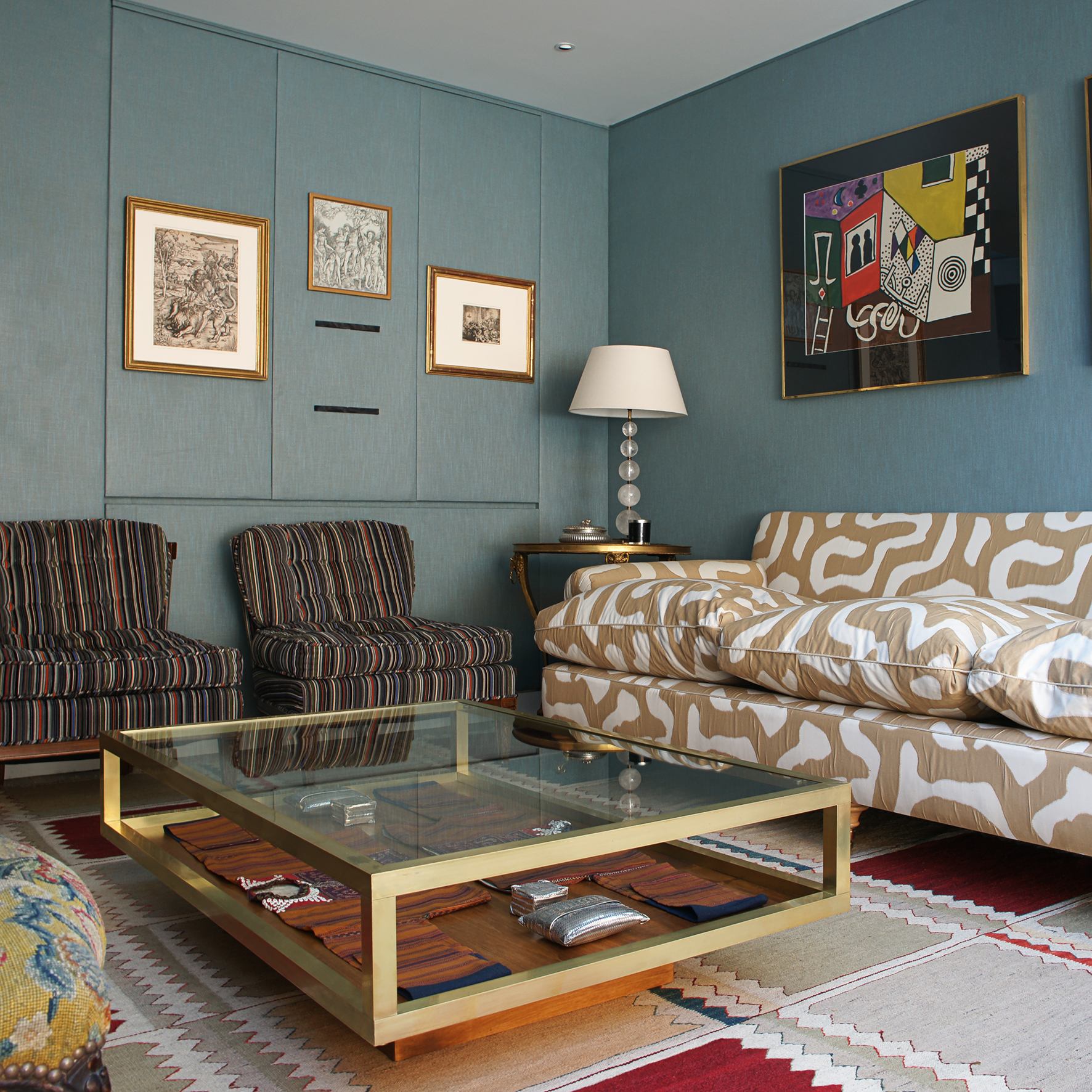 Save Or Splurge: Brass And Glass Coffee Tables