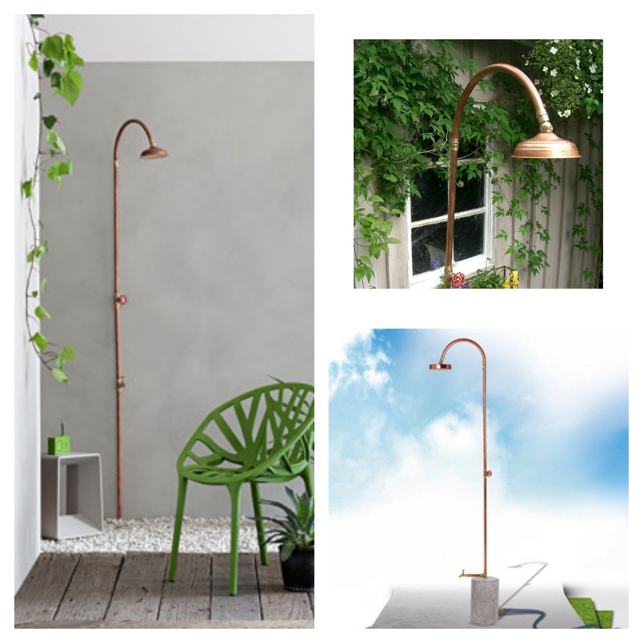Outdoor Copper Shower