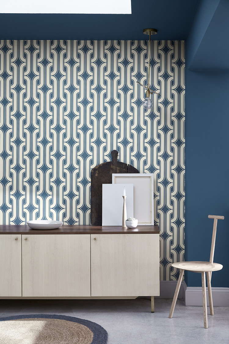 The Blue Collection by Little Greene - Mad About The House