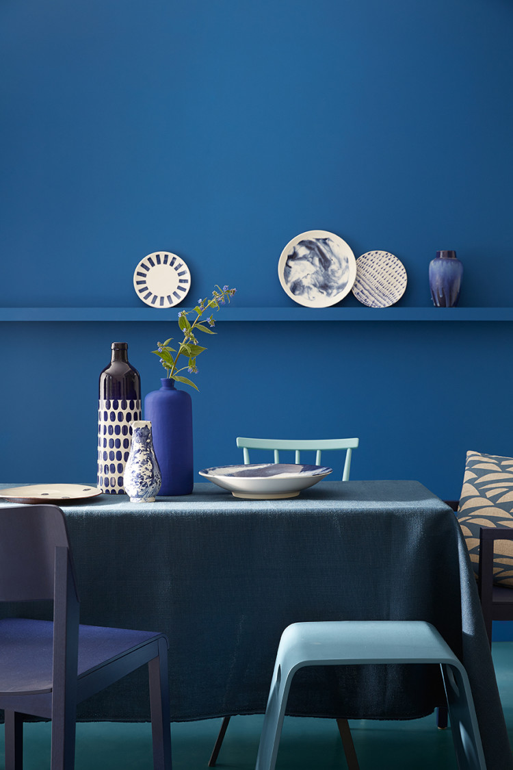 The blue collection by little greene mad about the house - Peinture little green ...