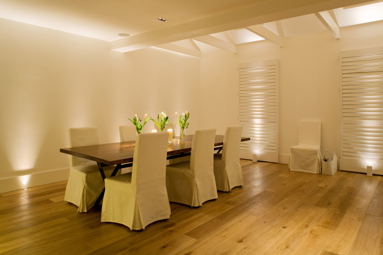 Superbe 1w LED Lucca Uplights £106 In The Floor