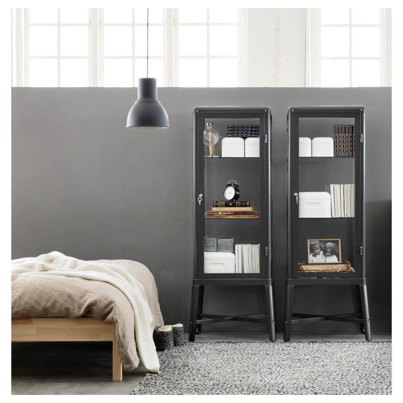 fabrikor glass cupboard from Ikea