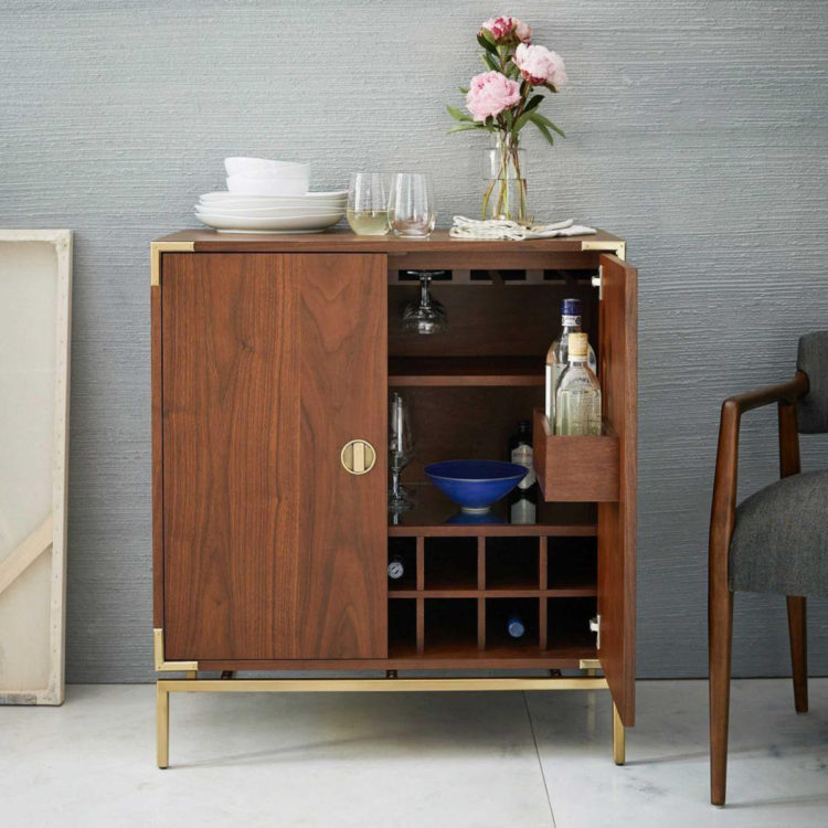 walnut bar cabinet from westelm mad about the house rh madaboutthehouse com west elm mid century bar cabinet small west elm downing bar cabinet