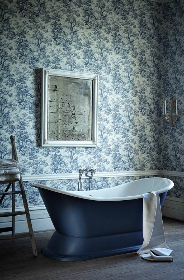 little greene toile bathroom