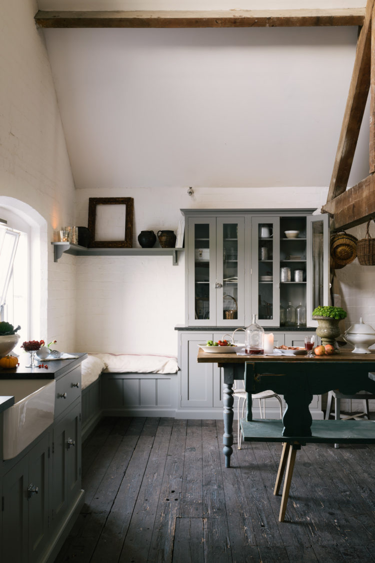 shaker loft kitchen by devol