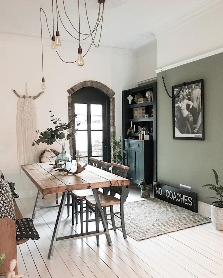 Sage Green Dining Room: Mad About The House