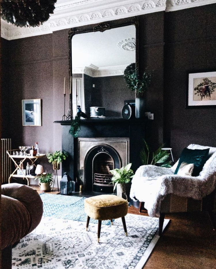 farrow and ball london clay by @around_houses