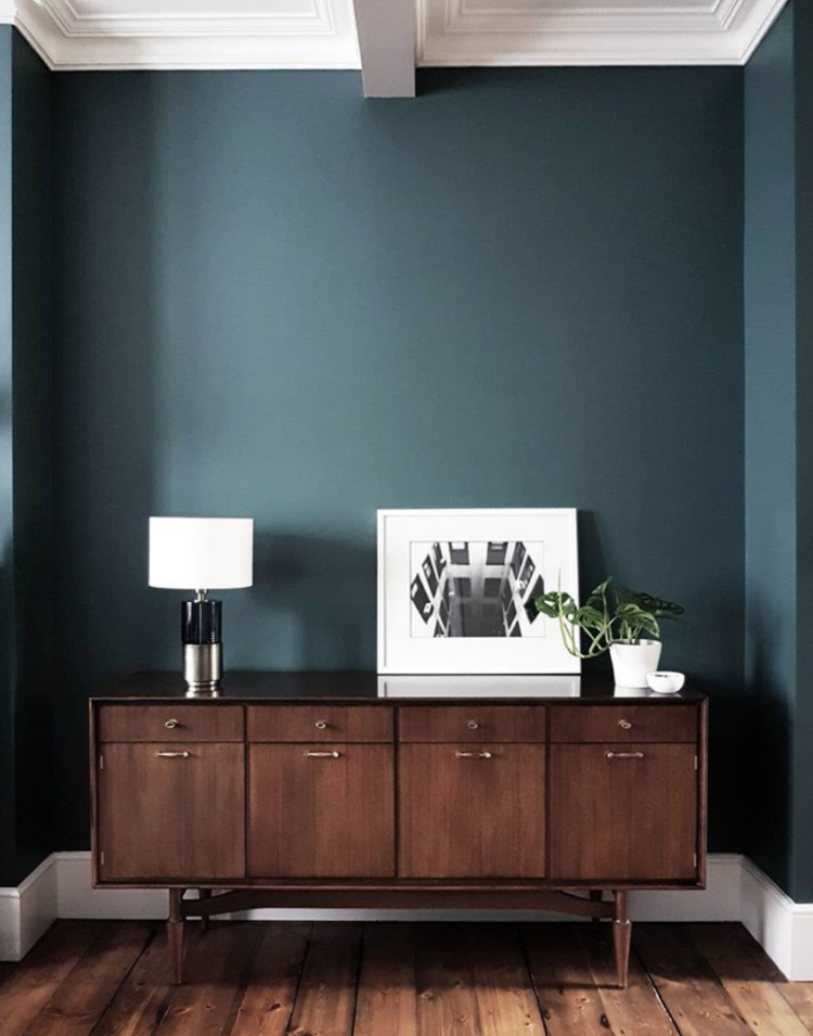 farrow & ball inchyra blue by @restoringlansdowne