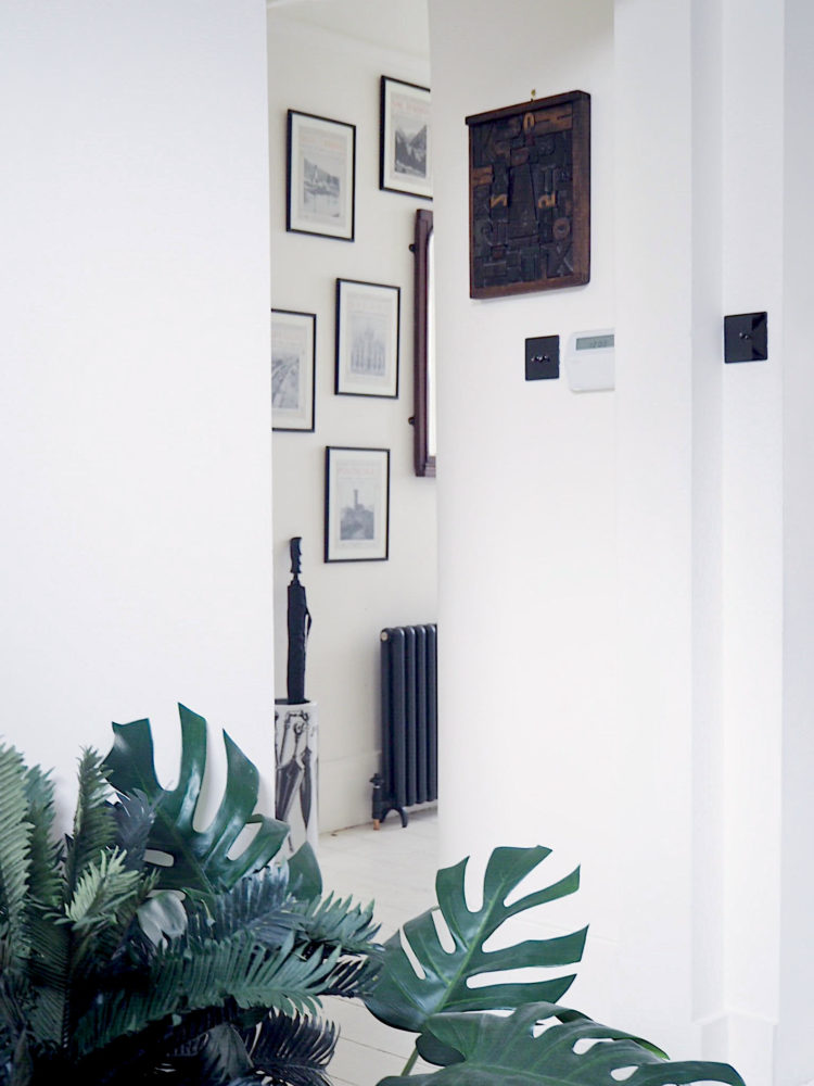 hall with bisque radiator