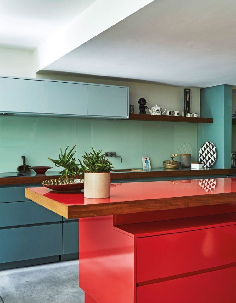 colourful kitchen the hamlet via jjmedia