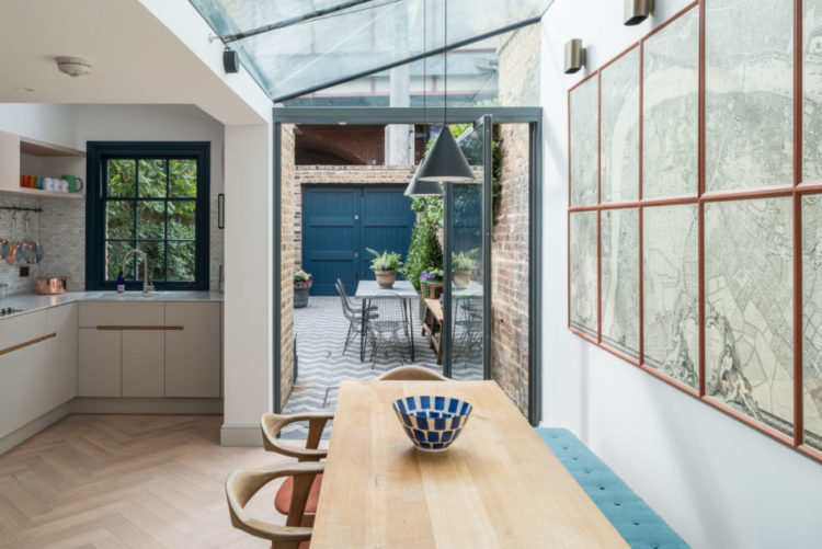 Glass Roof And Dark Windows Via The Modern House Mad About The House