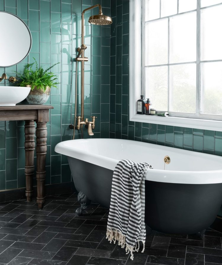 speculo forest green tile by topps