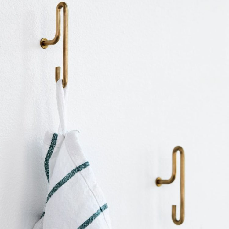 moebe brass wallhooks from skandivis