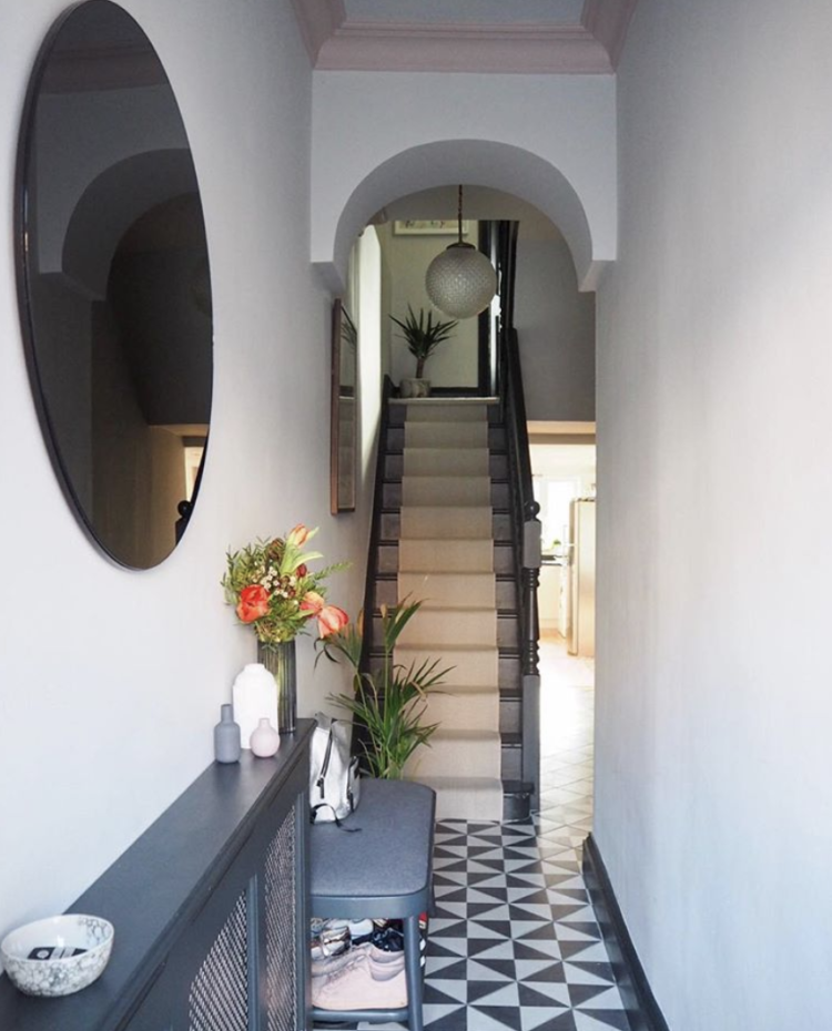 stair runner by Kersaint Cobb in the home of Jess Hurrell of Gold is a Neutral