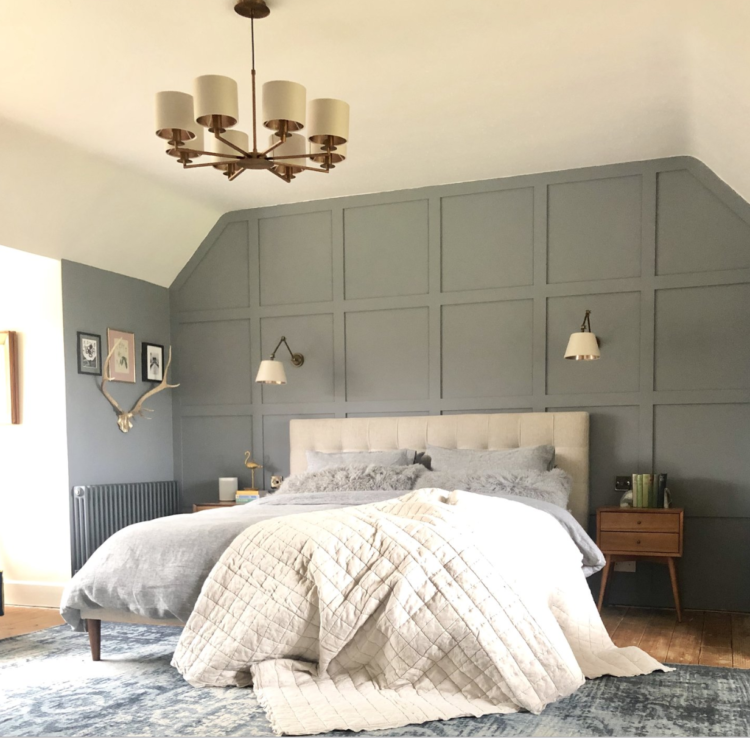 bedroom panelling by matthew shaw for revamp restyle reveal