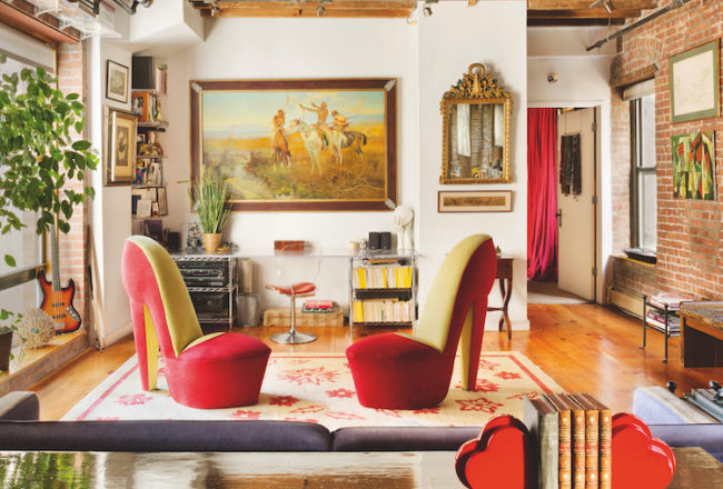 roger de cabrol, east village loft 2014 image by David S Allee from Phaidon Interiors