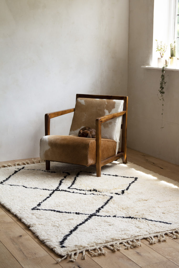 Moroccan Berber Rug Designed By Rockett