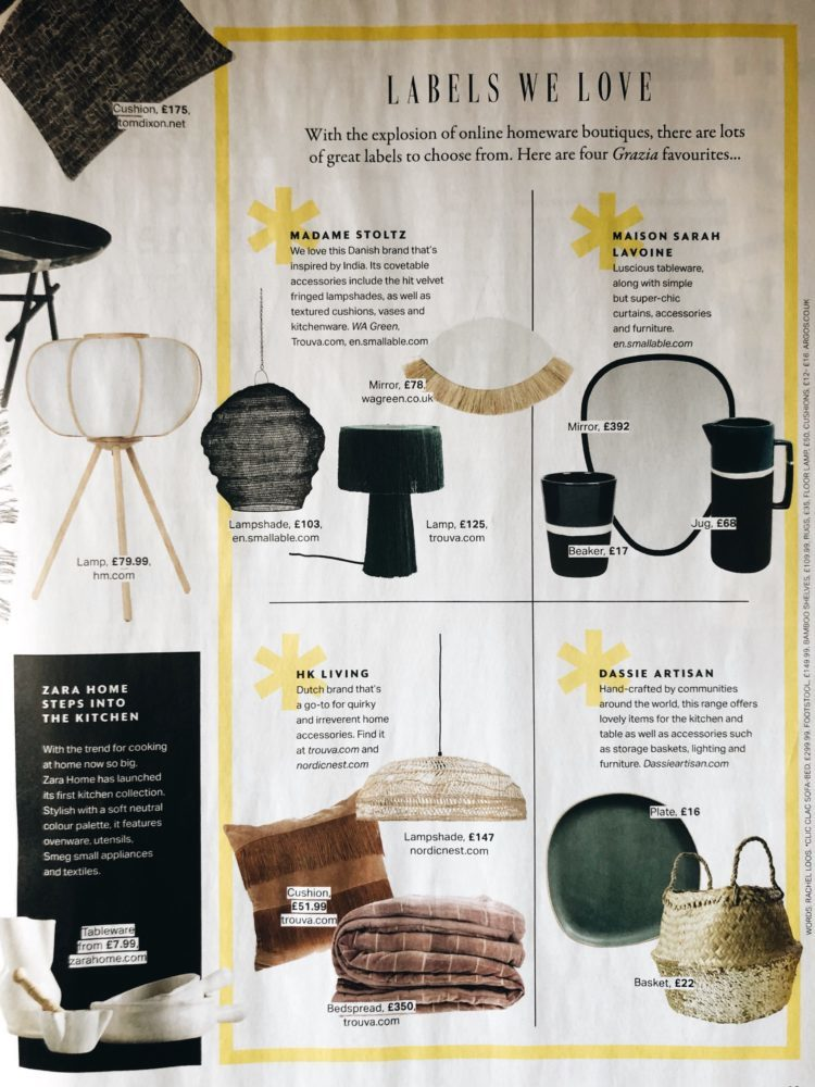 find your new season style with madaboutthehouse and grazia