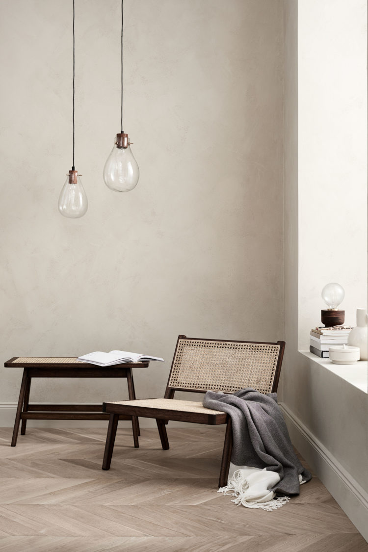 cane chair from h&m home