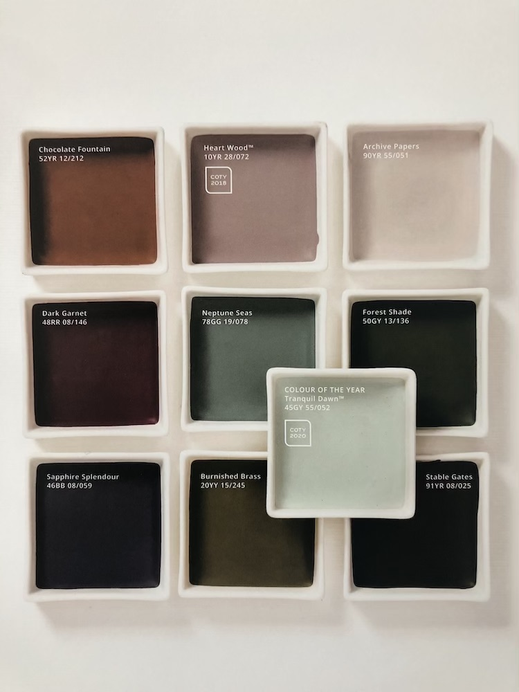 DULUX COLOUR OF THE YEAR CREATIVITY PALETTE
