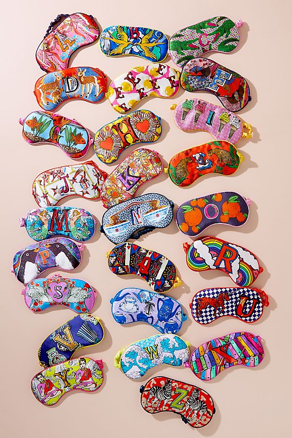 sleep masks from anthropologie