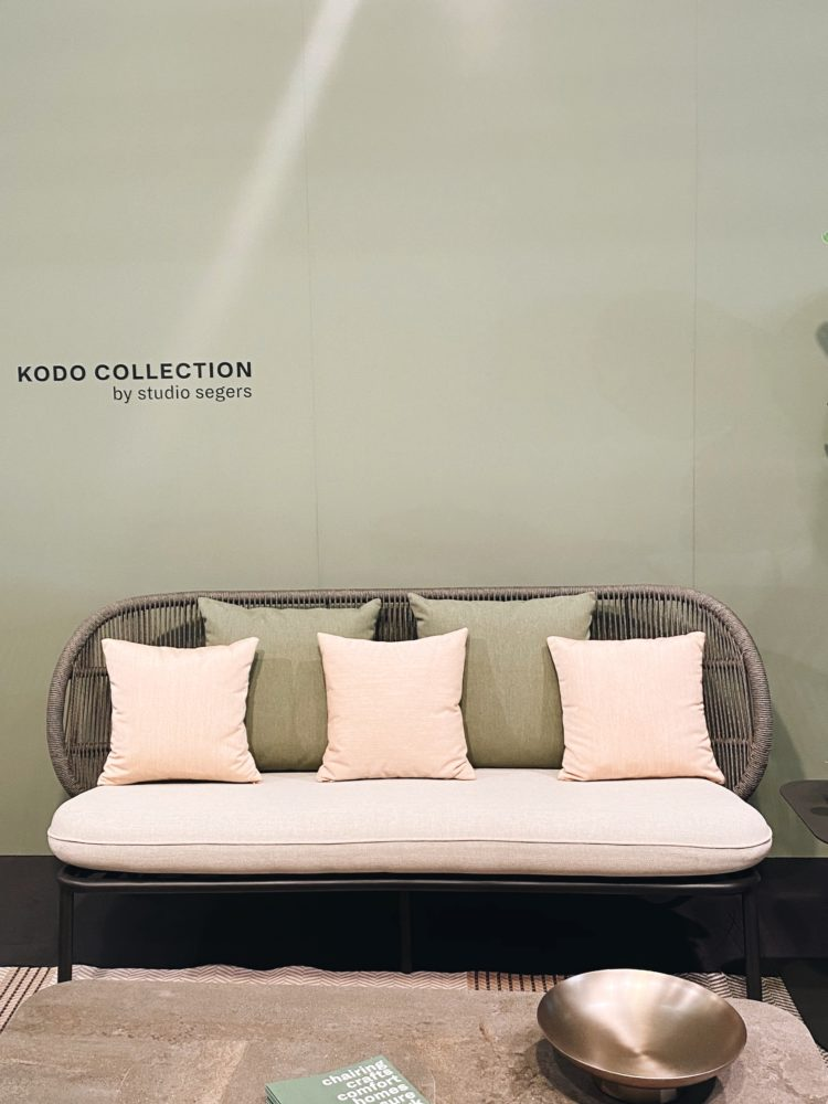 pink and green garden furniture at maison 2020
