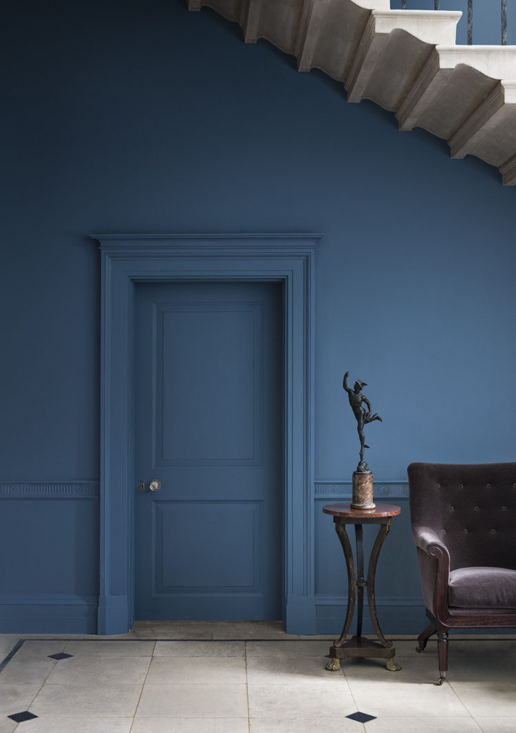 blue blood by paint and paper library shot by paul raeside