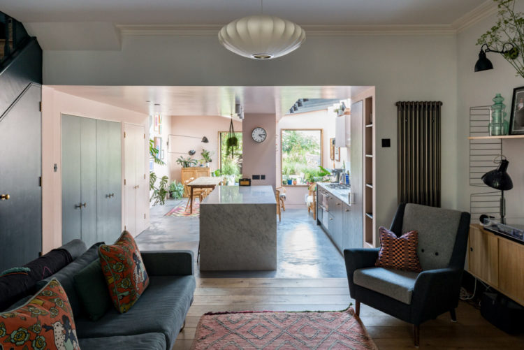 The Househunter Open Plan Living In A Victorian Terrace Mad About The House