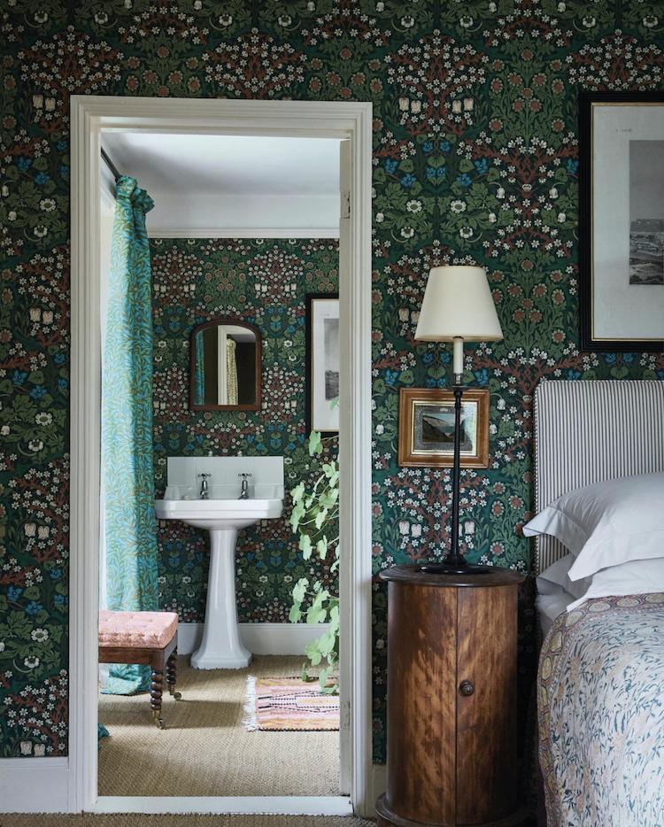 Designer Ben Pentreath has recoloured the classic William Morris prints