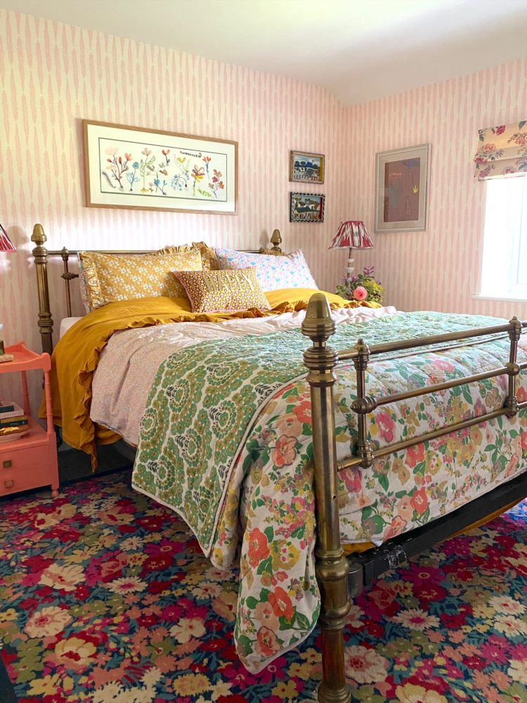 muted pattern clash and english country style at sophie robinson house